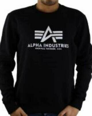 Alpha Industries Men's Sweatshirts Black