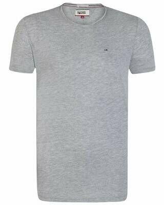 Tommy Hilfiger Men's T-Shirt Crew Neck Gray