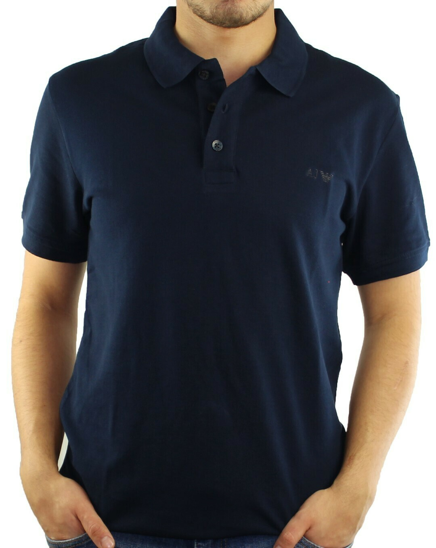Armani Jeans Men's Polo Shirts Navy