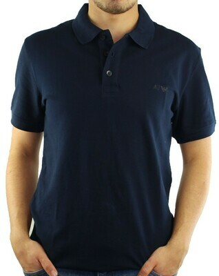 Armani Jeans Men's Polo Shirts Navy