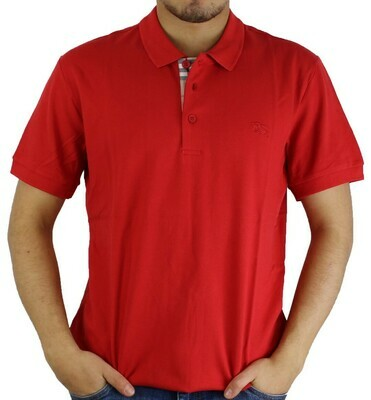 Burberry Men's Polo Shirts Red