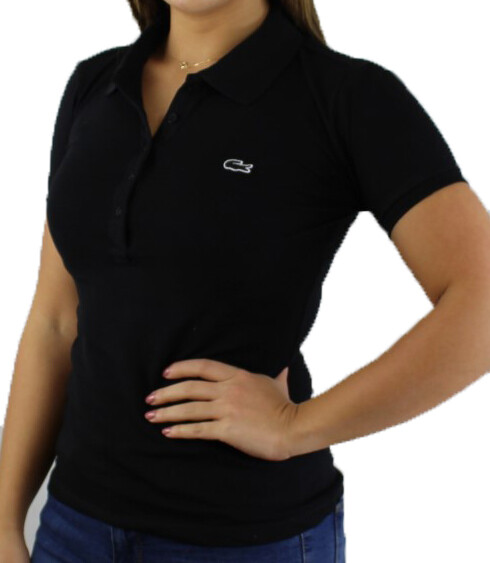 Lacoste Women's Polo Shirts Black