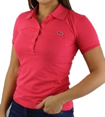 Lacoste Women's Polo Shirts Fuchsia