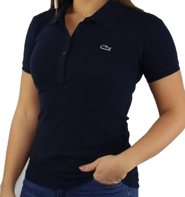 Lacoste Women's Polo Shirts Navy