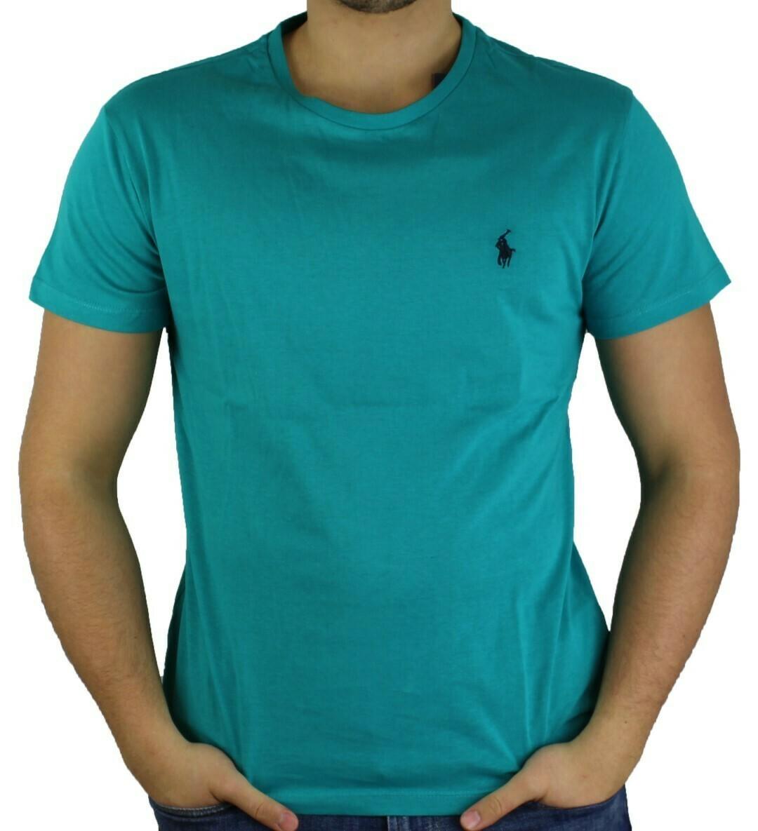 Ralph Lauren Crew Neck Men's T-Shirt Green