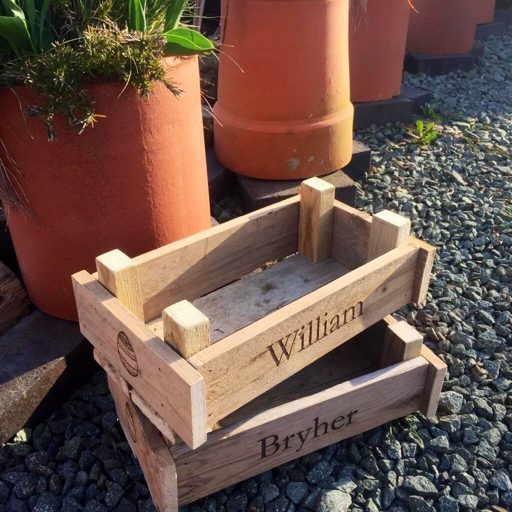 Personalised Box Crate