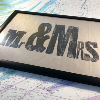 Mr & Mrs Print