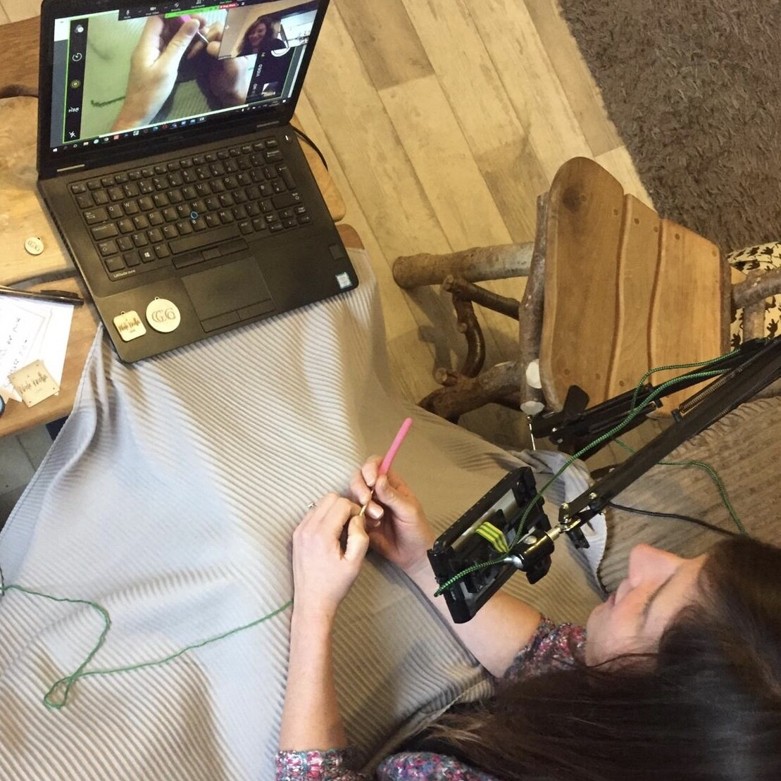 Crocheting Course Learn at Home Live with Rachel