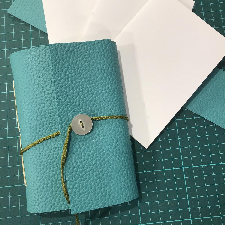 Beginner Bookbinding - Make your own Sketchbooks, Journals, Books - 3 Hours