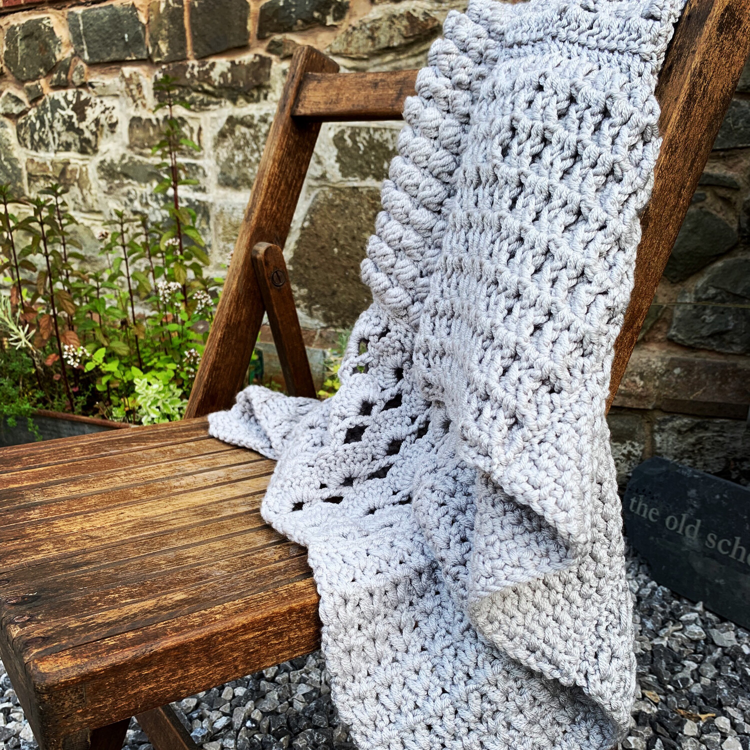Square a Day Crochet Blanket Kit - Learn New Stitches - Create at Home