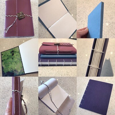 Bookbinding - Make your own Sketchbooks, Journals, Books - 1 Day