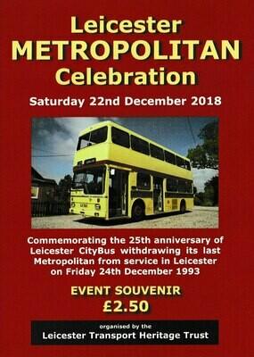 Leicester Metropolitan Celebration Programme