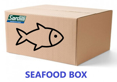 SEAFOOD BOX - Keeping it Simple -  Boxes are limited. Bringing back the original Seafood box
