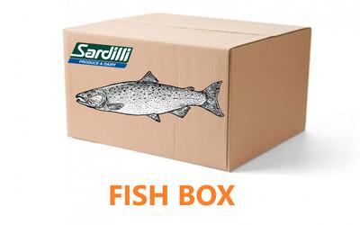 FISH BOX - This box has all the fish you need. Mahi-Mahi, Halibut and more