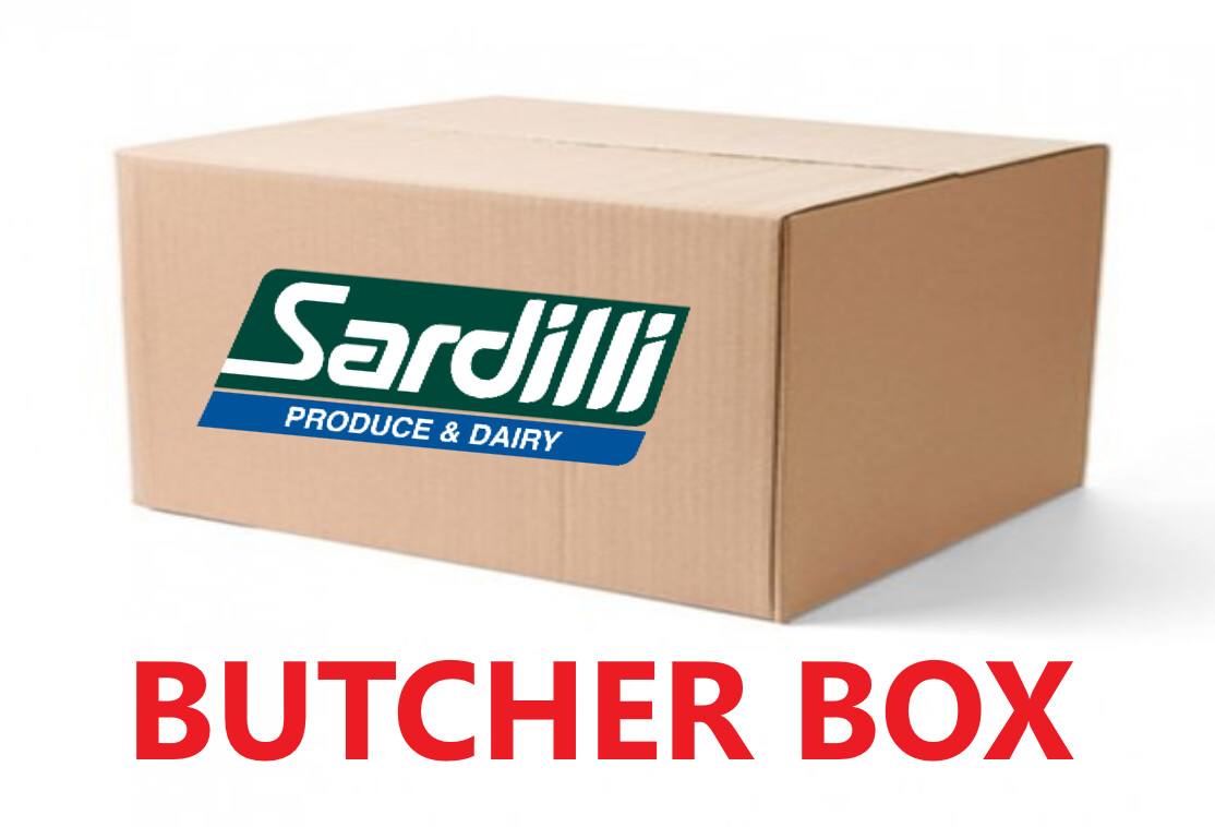BUTCHER BOX - Top Steaks selected by our Butcher. Sirloins, Rib-eyes and NY Strip. Perfect box for the meat lover.