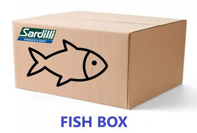 SEAFOOD BOX - Red Snapper, Salmon, Shrimp, Swordfish