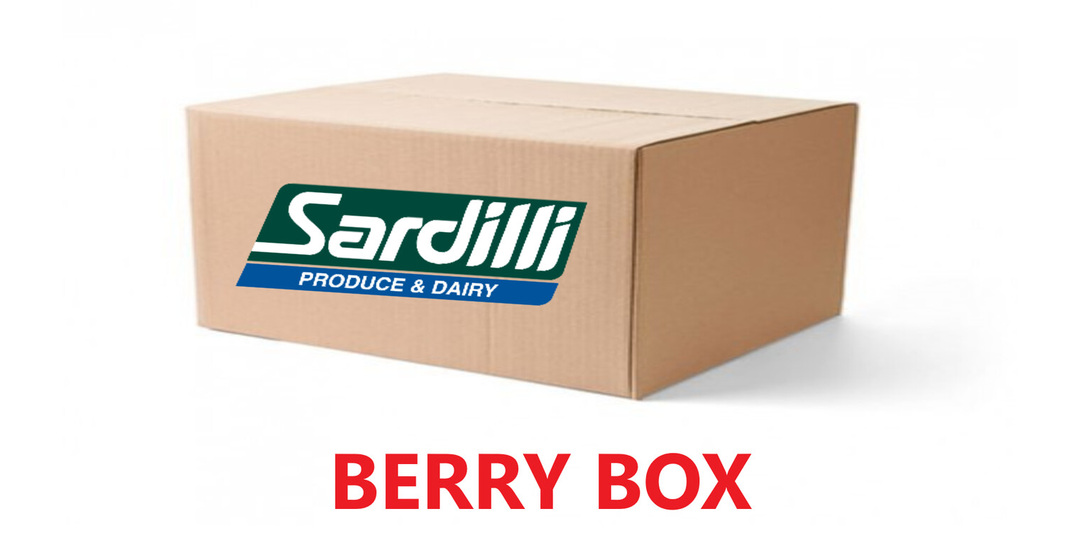 BERRY BOX - FOR WEDNESDAY DEC 2nd WANT JUST BERRIES? THIS IS THE ONE-