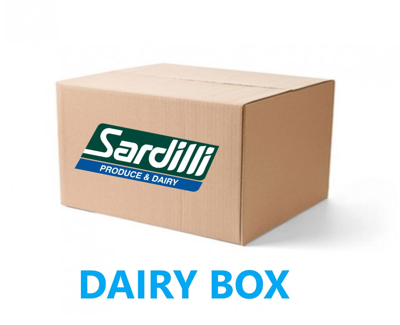 DAIRY BOX - We tried something new.