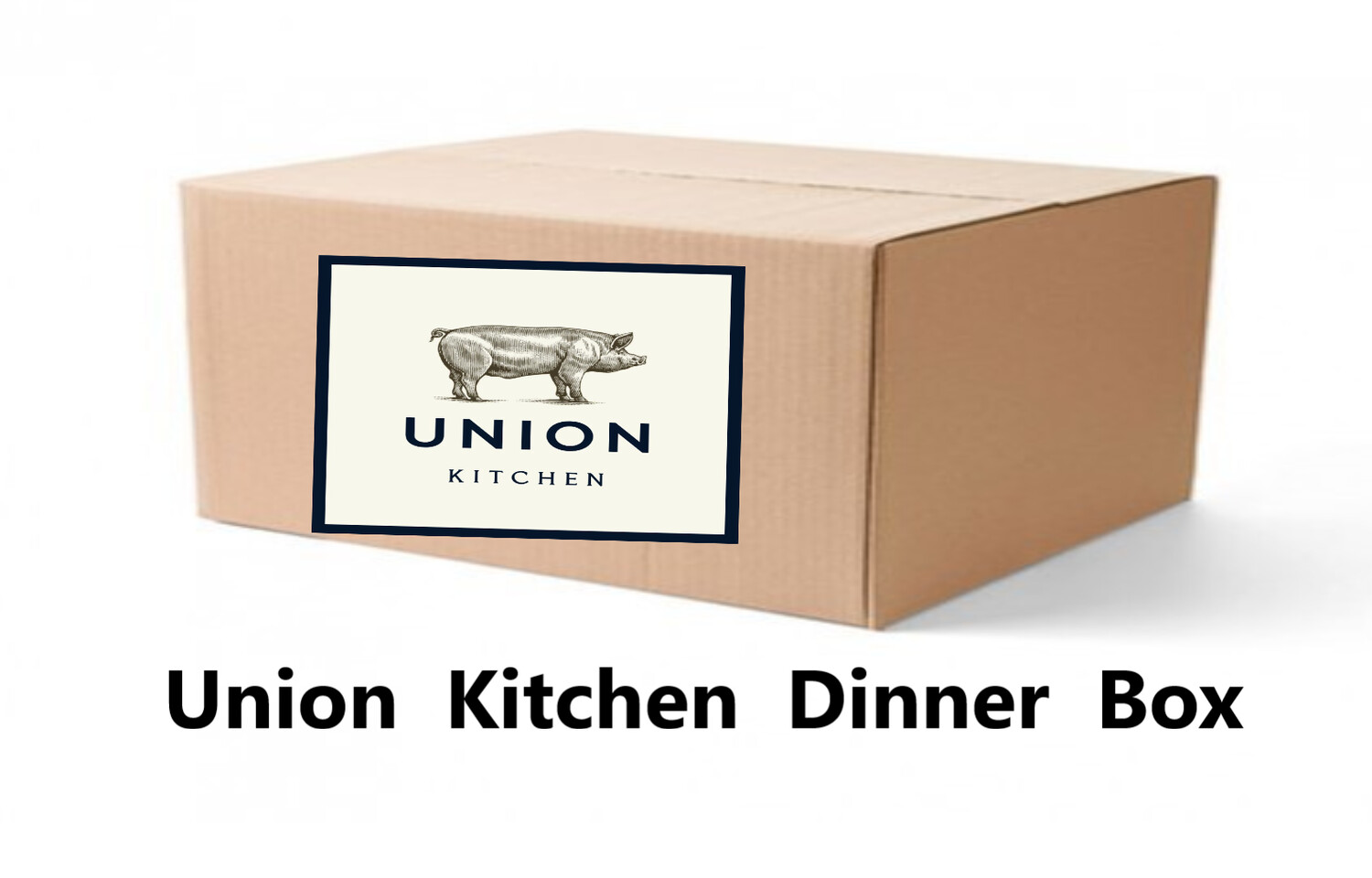 DINNER BOX - THE UNION KITCHEN BOX - We teamed up with our friends at Union Kitchen in West Hartford this week.