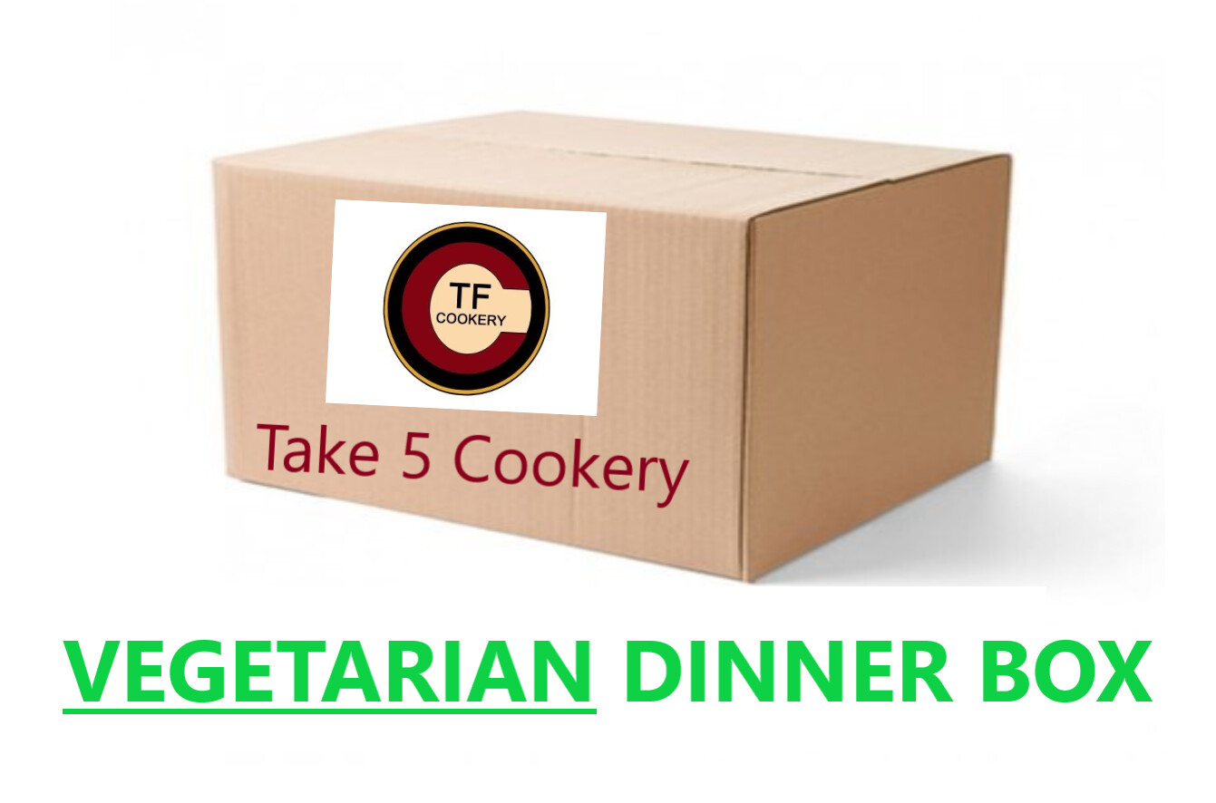 VEGETARIAN DINNER BOX - FOR MARCH 3rd PICK UP -