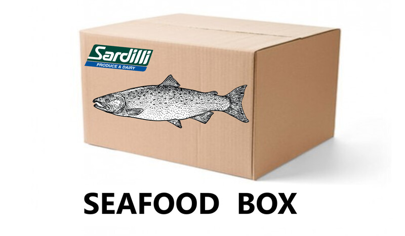 SEAFOOD BOX - FOR MARCH 3rd PICK UP - SEABASS IS BACK