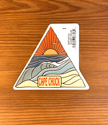 Stickers Sunset Cruise Triangle