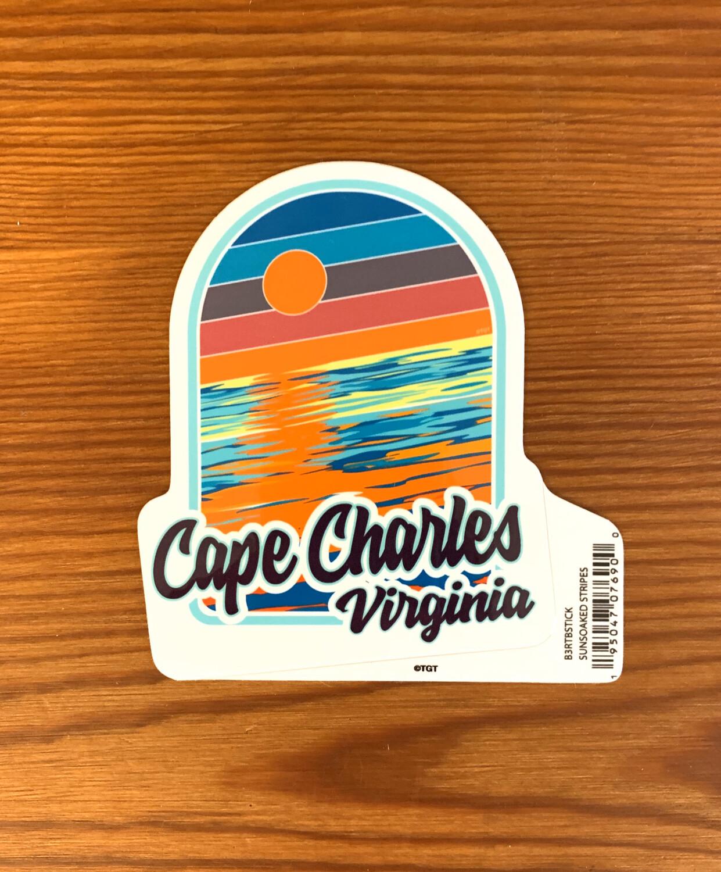 Stickers Sunsoaked Strips CC VA