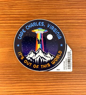 Stickers Outta Dis World