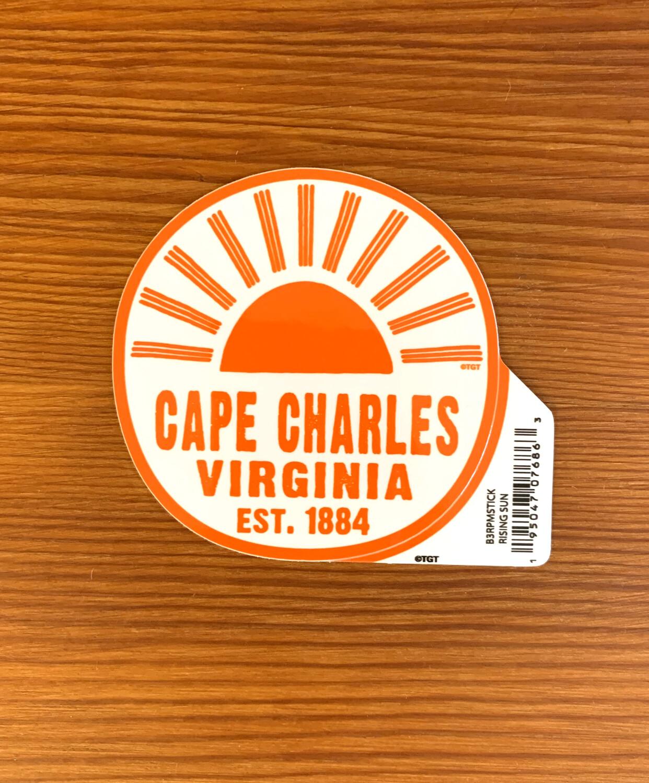 Stickers Rising Sun CC VA Est. 1884