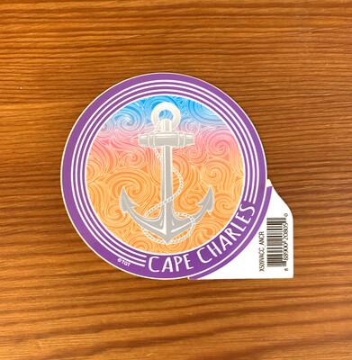 Stickers Vangogh Circle Anchor