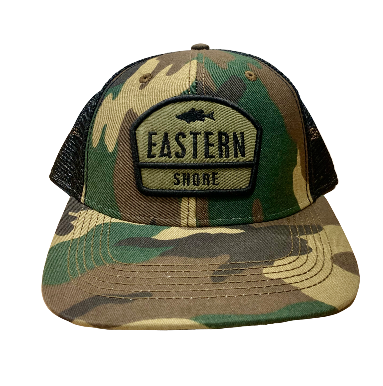 Hat A Trucker Army Camo ESVA Great Divide Green/Black MPS