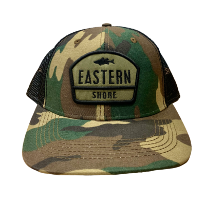 Hat A Trucker Army Camo ESVA Great Divide Green/Black MPS