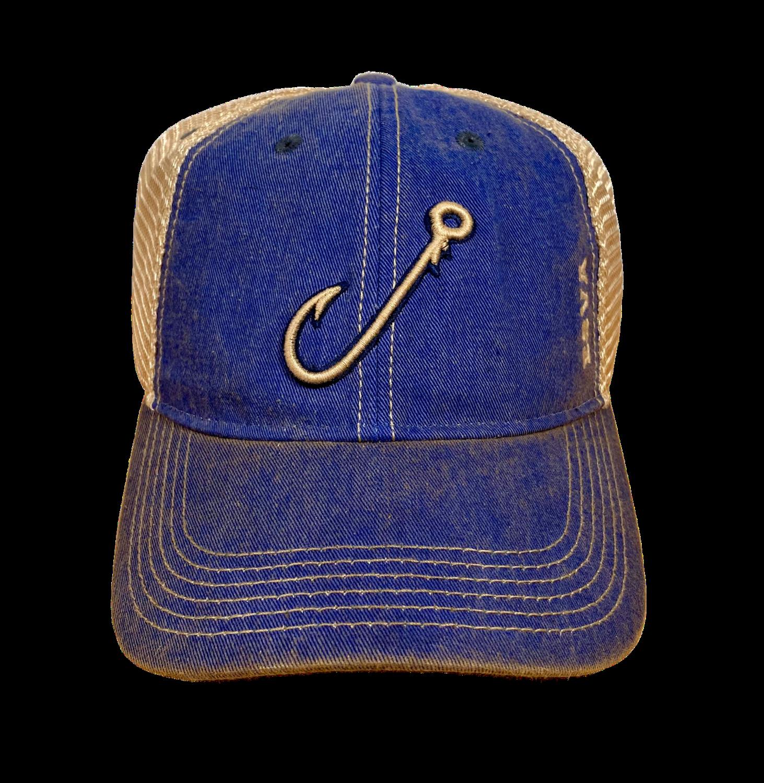Hat A Seamer Hook Trucker Blue