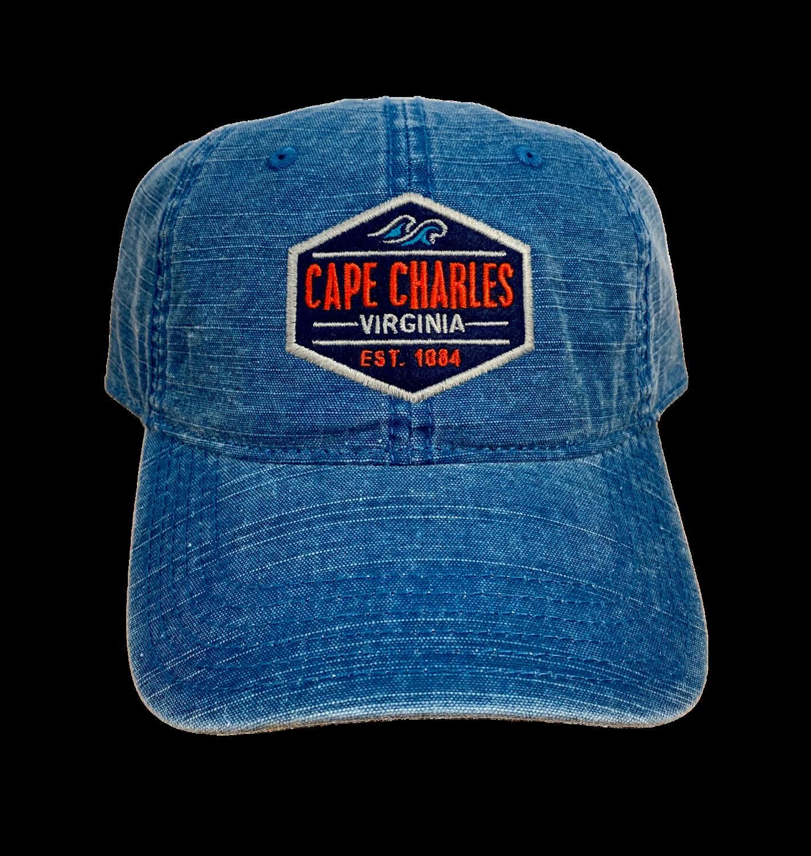 Hat A Academy Wave Marine Blue