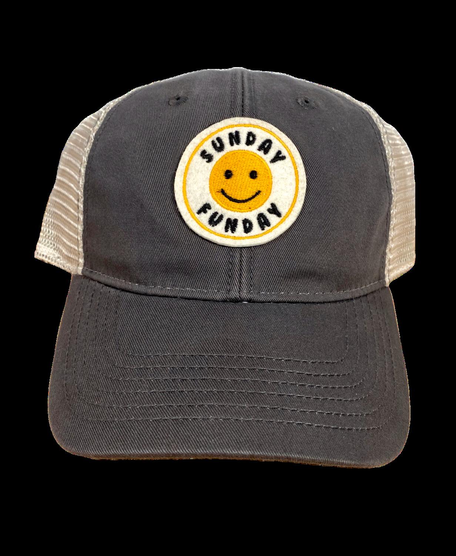 Hat A Trucker Sun Funday Dark Grey EZA