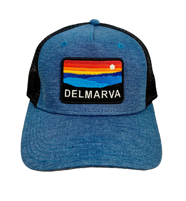 Hat A Roadie Trucker Delmarva MarineBlue/Black