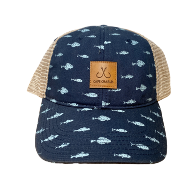 Hat A Fish Trucker CC Hook Patch OFA