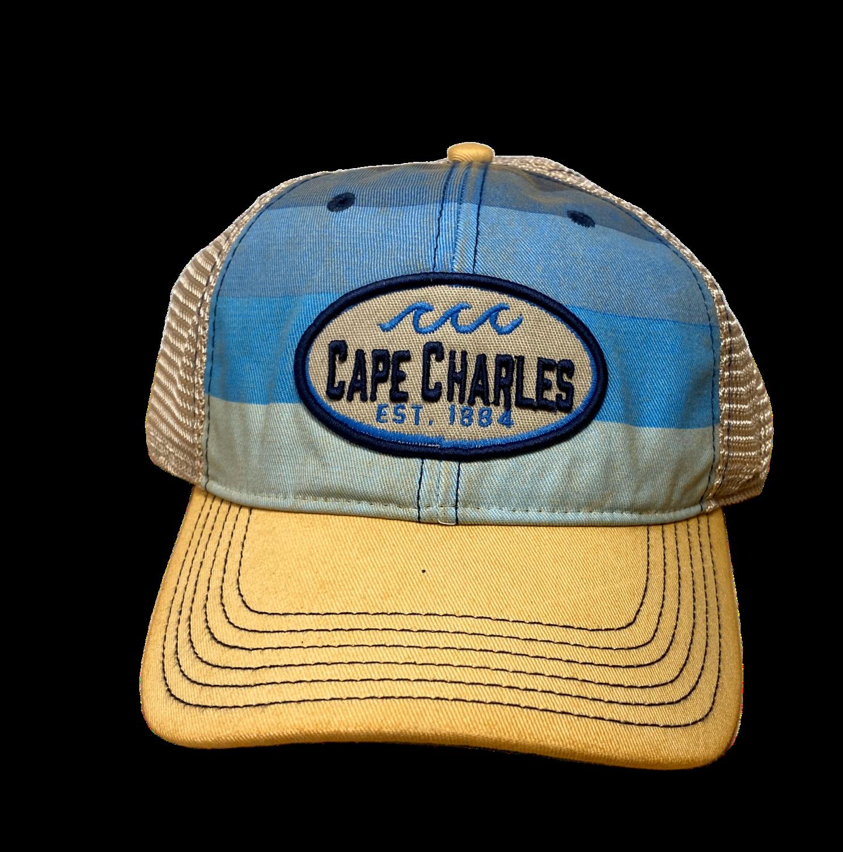 Hat A Blue Stripe Trucker CC OFA