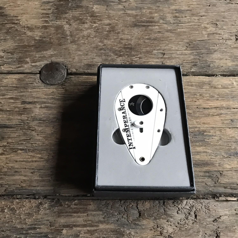 102RCIN Xi1 White with Black Blades Intemperance RoMa Craft Xikar Cutter