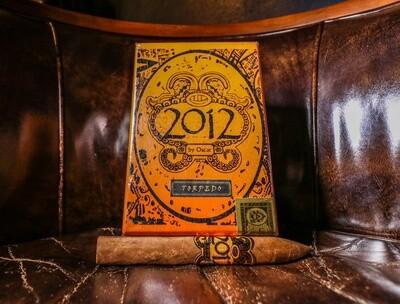 2012 by Oscar ORANGE Corojo Torpedo, 20's