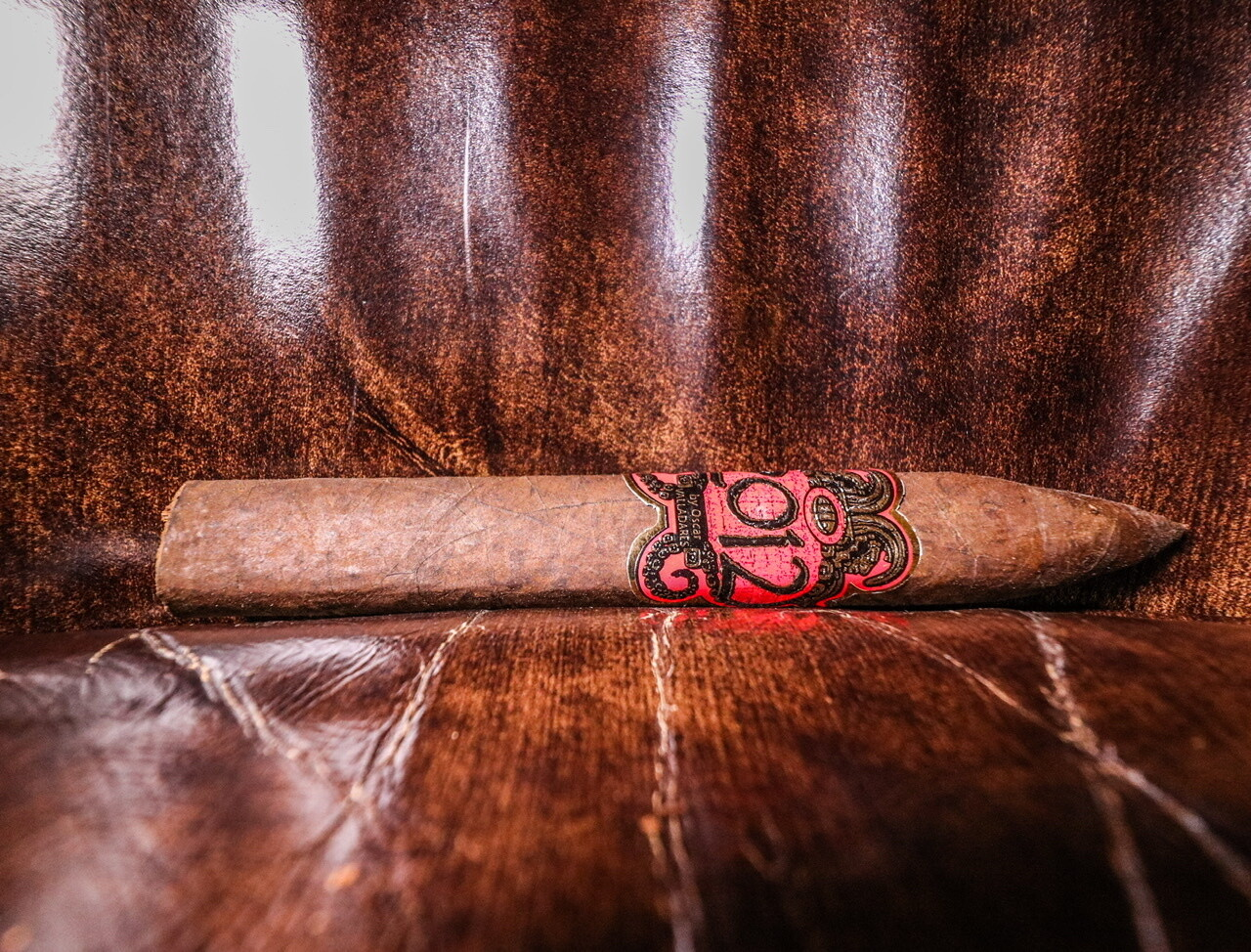 2012 by Oscar RED Maduro Torpedo, 20's