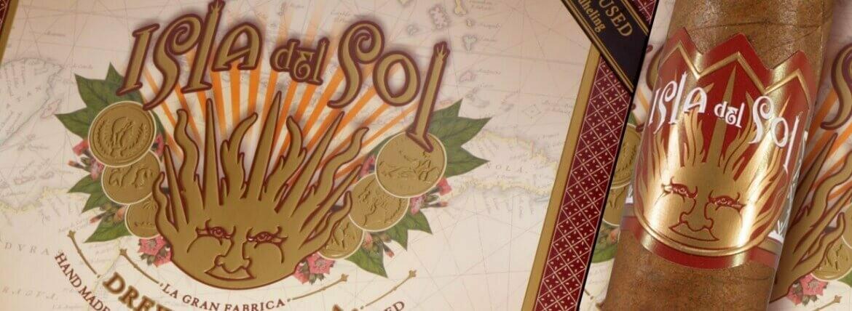 """DE Isla Del Sol Robusto 5x52 """"Sun Blessed"""" 20's"""