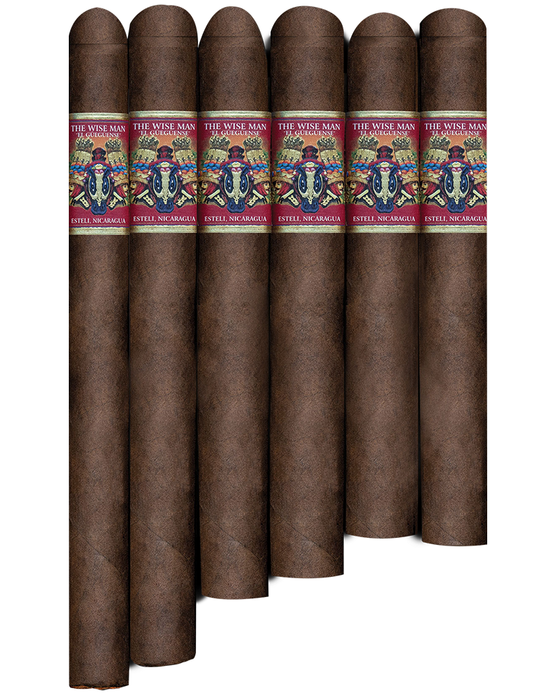 RED Churchill The Wise Man El Gueguense Maduro 7x48, 25's