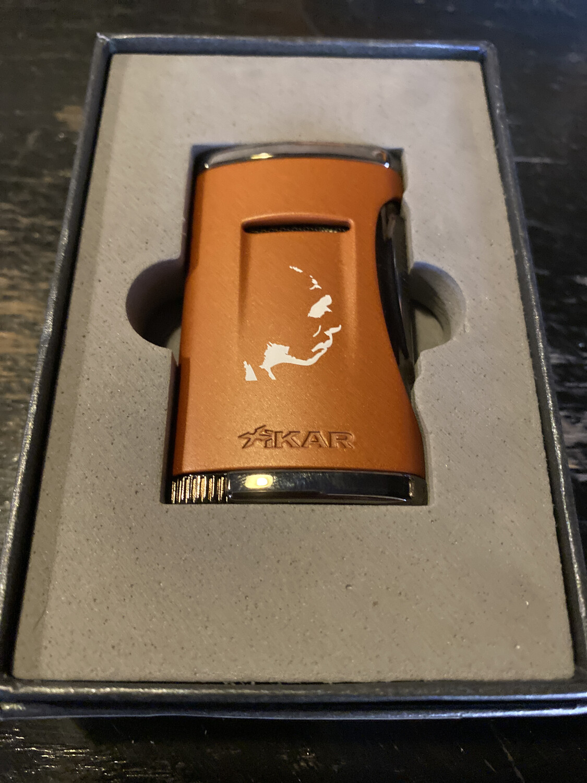 541RCN Xidris Orange Neanderthal RoMa Craft Lighter