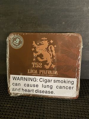 Liga Privada T52 Coronets 4x32 Tin of 10 Cigarillos DDRP