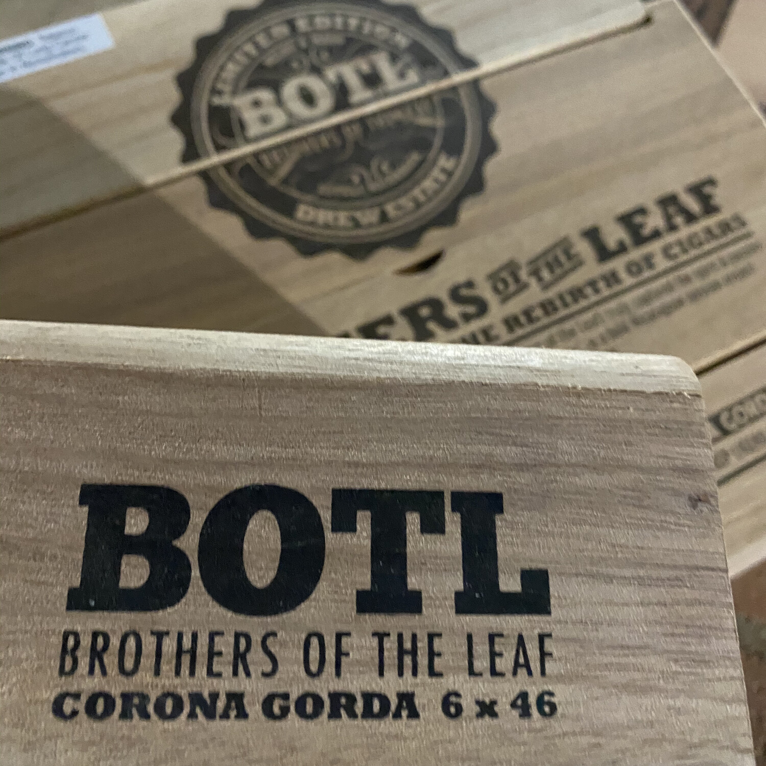 BOTL - Corona Gorda 6x46, 15's Brothers of the Leaf Cigar