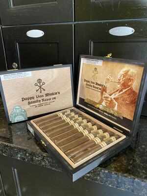 Pappy Van Winkle Barrel Fermented Toro Cigar, 10's