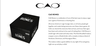 CAO Bones Chicken Foot 5x54, 20's