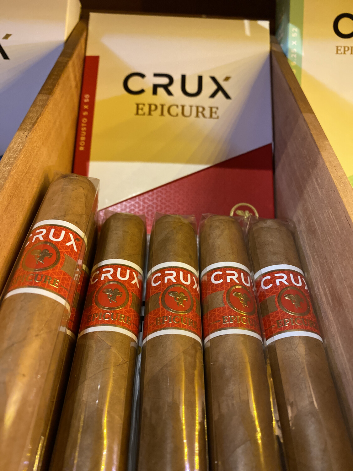 CRUX Epicure Robusto 5x50, 20's