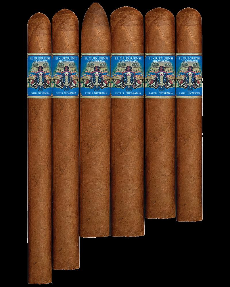 BLUE Corona Gordy El Gueguense The Wise Man 5-5/8x46, 25's